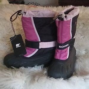 Brand New Sorel little girl's boots